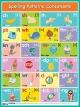 Английские буквосочетания. Согласные. Spelling Patterns. Consonants